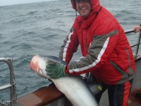 Anthony Hislop releasing his Blue